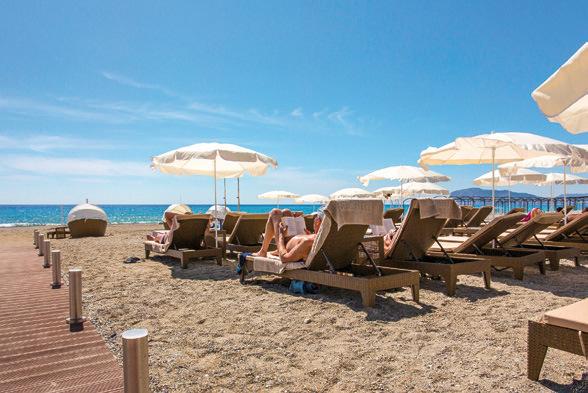Turkei 5 Sterne Hotel Michell Hotel Spa In Alanya 7 Tage Dz
